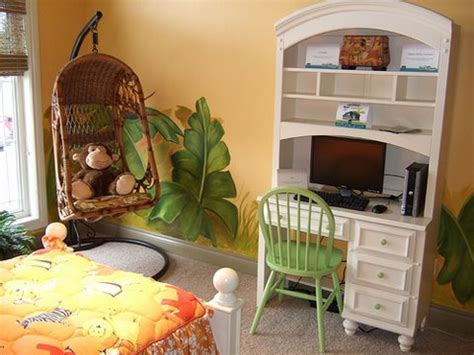20 jungle themed bedroom for kids rilane jungle boys room gallery