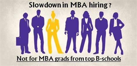 Career Mba Hire by Slowdown In Mba Hiring Not For Mba Grads From Top B Schools