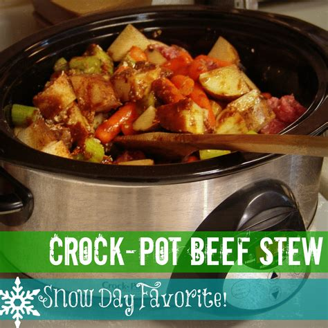 recipe crock pot beef stew sarahmartinhood com