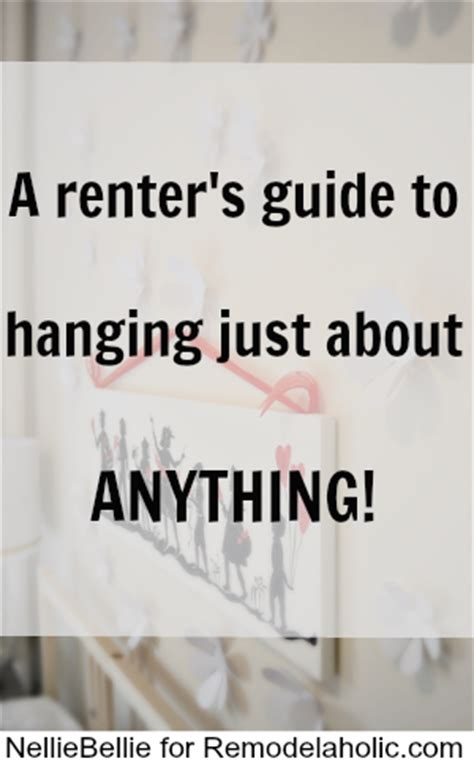 10 tips on how to hang almost anything finding home farms how to hang just about anything even while renting
