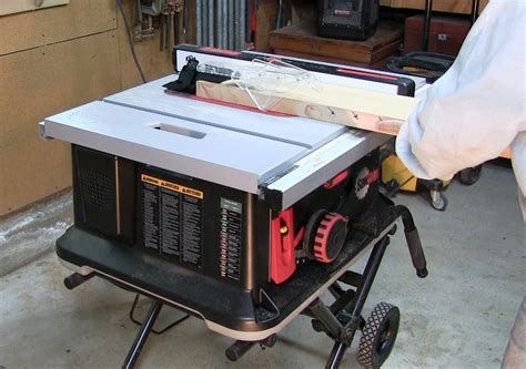 saw stop table saw tested sawstop jobsite table saw tools of the trade