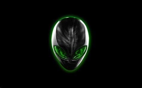 Chrome Alienware Green Eyes by darkangelkrys on DeviantArt