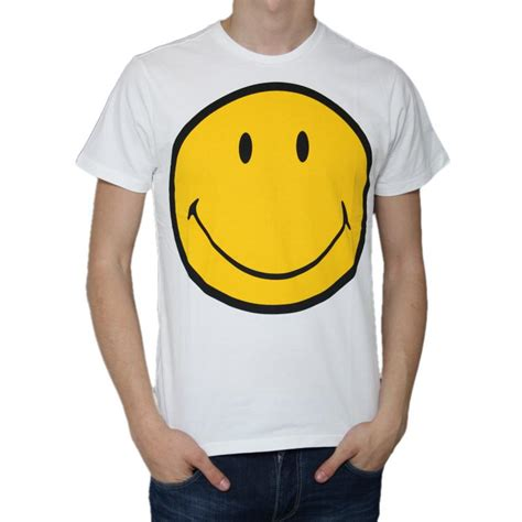 t shirt smile y t shirt smiley faccina