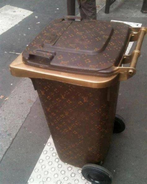 louis vuitton garbage bag lv garbage bin a new house