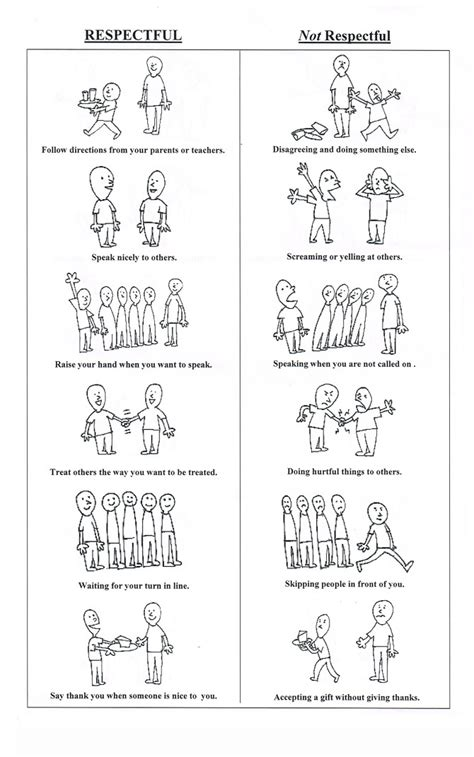 behavior worksheets stieg