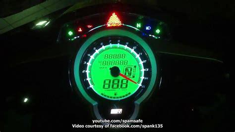 Meter Lc135 Yamaha Lc135 5speed Uma Digital Meter By Racingboy