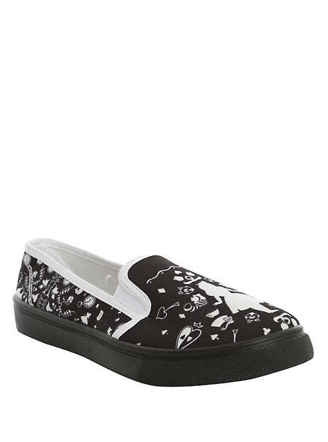 topic shoes disney in silhouette slip on shoes