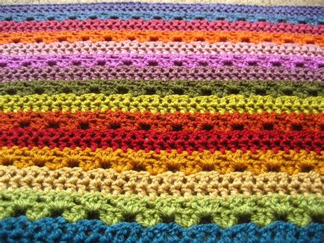 relaxing pattern video relaxing rainbow crochet blanket allfreecrochet com