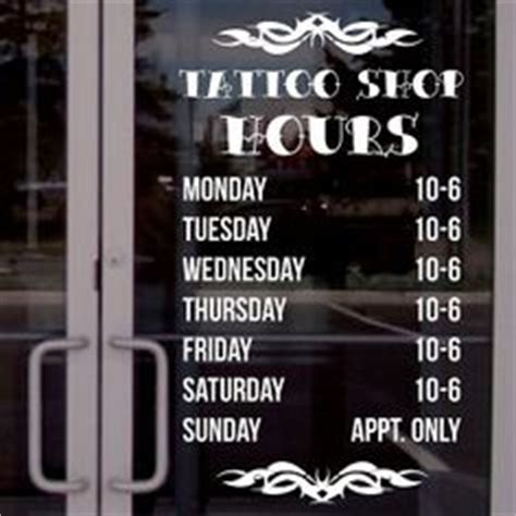 yakuza tattoo opening hours 1000 images about business hours decals on pinterest