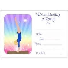 girls gymnastics thank you card folded card template i love gymnastics cute cartoon girl square sticker cute