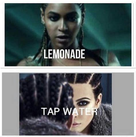 Meme Kim Kardashian - kim kardashian shaded by beyonce fans with cruel meme