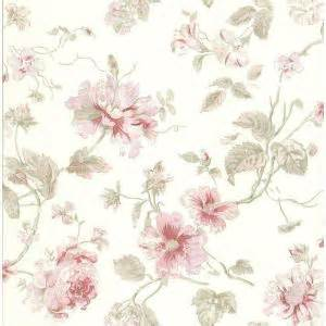 Brewster 8 in. W x 10 in. H Rose Floral Wallpaper Sample