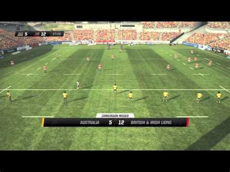 wallabies rugby challenge 2 rugby challenge 2 wallabies vs and lions