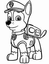 marshall paw patrol colouring pages