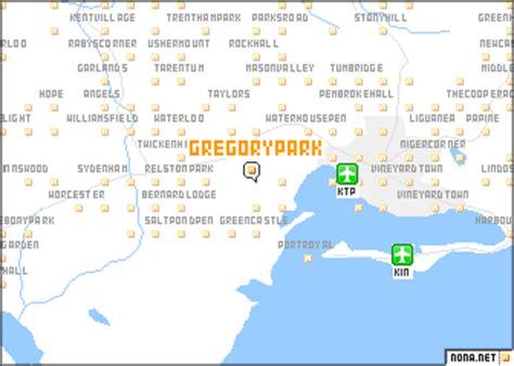 map of portmore jamaica gregory park jamaica map nona net