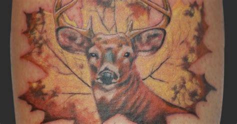 where to buy tattoo camo in canada buck deer canadiana maple leaf hunter tattoo tattoos