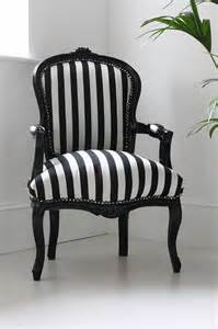 Hattie black and white striped chair modern accent chairs