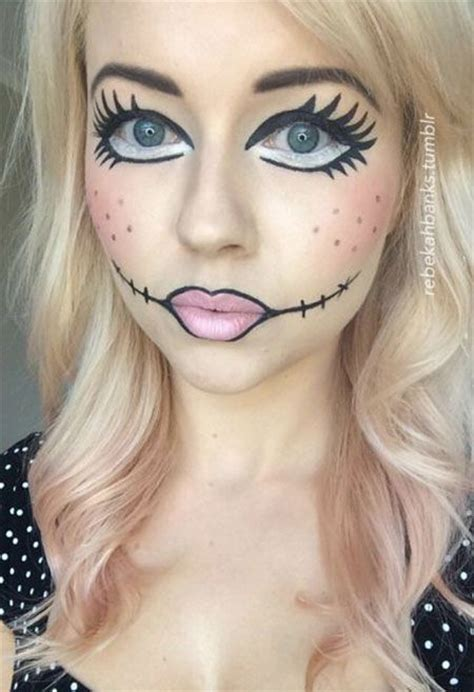 tutorial makeup halloween doll best 25 easy halloween makeup ideas on pinterest diy