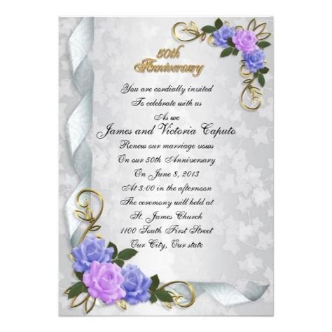 Wedding Anniversary Card Borders by 9 Best 50th Wedding Plans Images On 50th