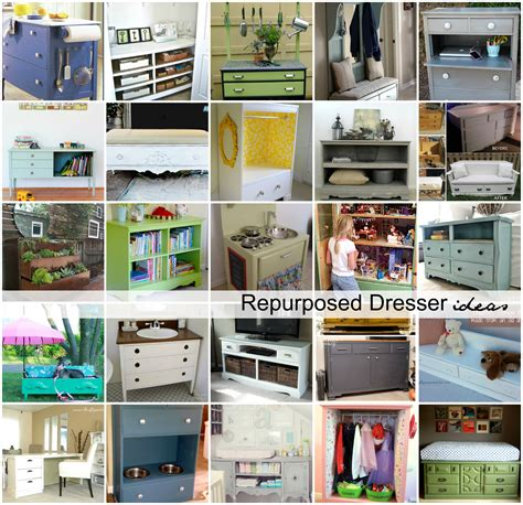 repurposed dresser ideas the idea room