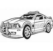 Coloriage A Imprimer Transformers En Voiture De Police Gratuit Et