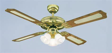 white and gold ceiling fan deckenventilator monarch trio westinghouse