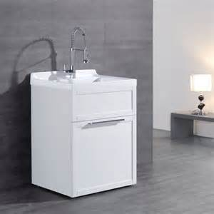 Laundry Room Utility Sink Cabinet Ove Utility Sink Cabinet From Costco Cabinets Matttroy