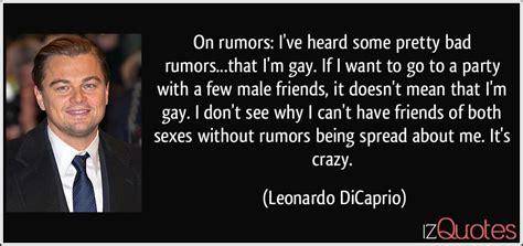 rumors ive heard  pretty bad rumorsthat im