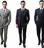 Wall Street Men Suits