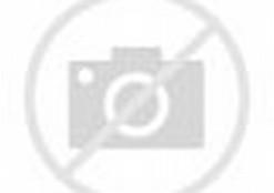 Gambar Mewarnai Hello Kitty bermain dengan binatang