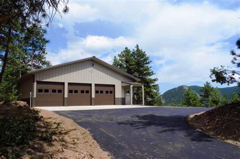 custom garages colorado mountains