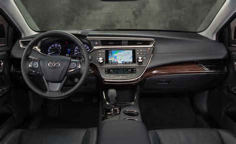 Toyota Avalon Interior Dimensions Toyota Avalon 2014 Vs Toyota Camry 2014 Features Autos Post
