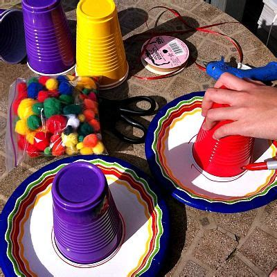 How To Make A Sombrero Hat Out Of Paper - make a paper plate sombrero jardins choses 224 faire et
