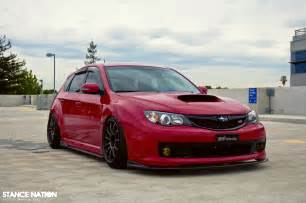 Subaru Sti Stance Simply Stunning Sti Stancenation Form Gt Function