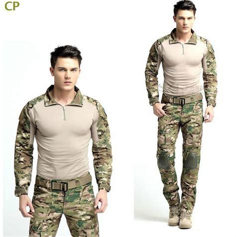Kaos Millitari Army achetez en gros multicam combat shirt en ligne 224 des