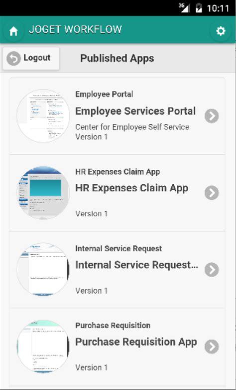 workflow web app apps slack joget workflow mobile app and more