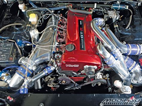 nissan skyline r34 engine nissan r34 skyline gt r modified magazine