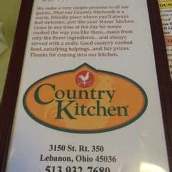 Country Kitchen Restaurant 39 Photos 45 Reviews Country Kitchen Lebanon Ohio