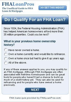 fha mortgage qualification guidelines
