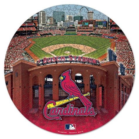 Cardinals Box Office by Official Mlb St Louis Cardinals Box Jigsaw Puzzle