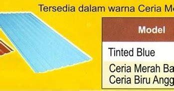 Seng Multiroof Makassar atap zincalume genteng metal insulations translucent