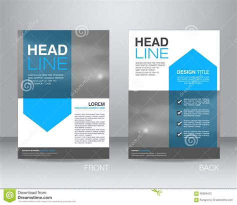 corporate brochure layout design corporate brochure flyer design layout template in a4 size