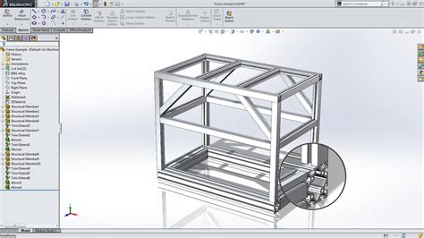 frame design in solidworks tech tip tuesdays creating extruded frames in solidworks