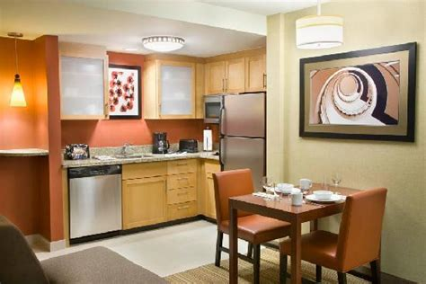kitchen picture of residence inn by marriott calgary