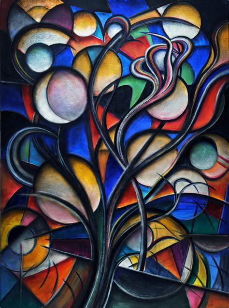 picasso paintings garage moon tree by sozra on deviantart