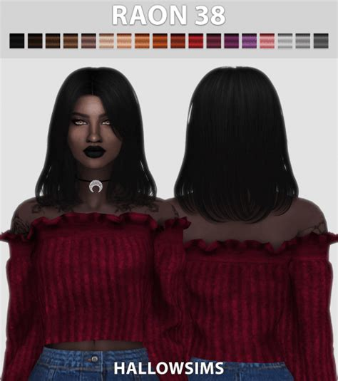 Spring4Sims   Raon 38 Hair for The Sims 4