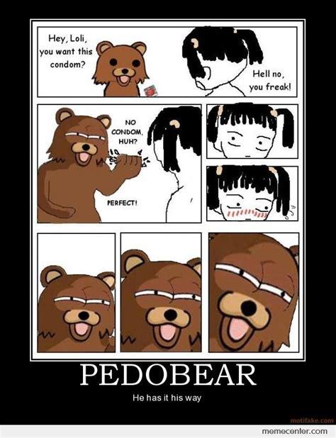 pedobear has it his way by ben meme center