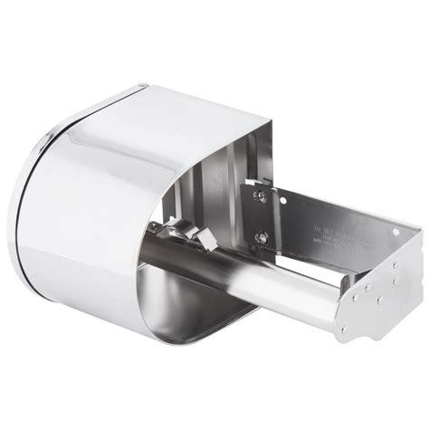 continental  double toilet tissue dispenser  chrome toilet paper holder