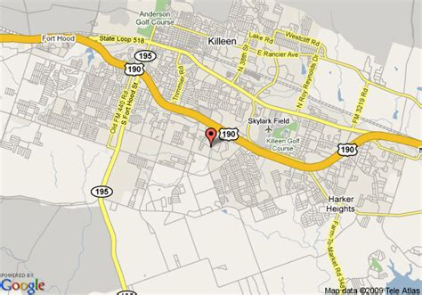 comfort texas map map of comfort suites killeen killeen