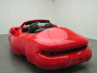 by erwin wurm fat car tamerlane s thoughts erwin wurm s other car sculptures